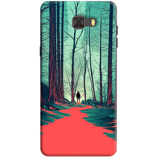 FABTODAY Back Cover for Samsung Galaxy C7 - Design ID - 0866