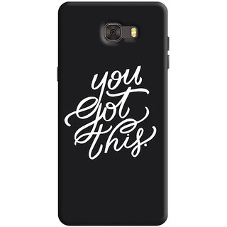 FABTODAY Back Cover for Samsung Galaxy C7 Pro - Design ID - 0833