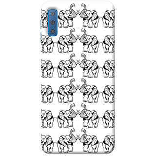 FABTODAY Back Cover for Samsung Galaxy A7 2018 - Design ID - 0299