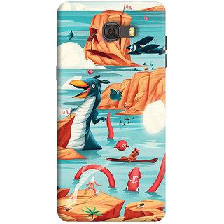 FABTODAY Back Cover for Samsung Galaxy C7 - Design ID - 0879