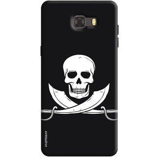 FABTODAY Back Cover for Samsung Galaxy C7 Pro - Design ID - 0123