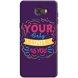 FABTODAY Back Cover for Samsung Galaxy C7 - Design ID - 0531