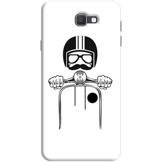 FABTODAY Back Cover for Samsung Galaxy On7 Prime - Design ID - 0851