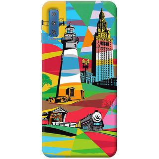 FABTODAY Back Cover for Samsung Galaxy A7 2018 - Design ID - 0565