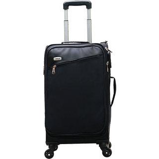 Timus Cameroon Plus Black 55 CM 4 Wheel Trolley Suitcase Cabin Luggage