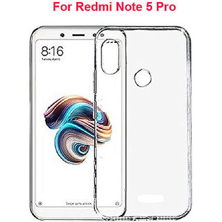 REDMI NOTE 5 PRO Soft Silicon High Quality Ultra-thin Transparent Back Cover For Redmi Note 5 Pro ( 2018 )