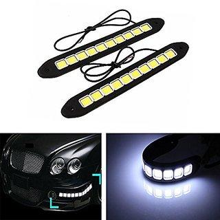 DELHITRADERSS 20W LED COB Car DRL 12V Driving Daytime Running Lamp Waterproof Fog Light