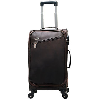 Timus Cameroon Plus Coffee 55 CM 4 Wheel Trolley Suitcase Cabin Luggage