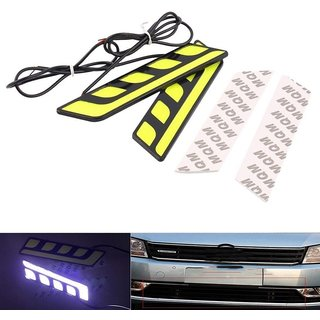 DELHITRADERSS Ultra Bright COB LED Peocock Daytime Running Light Car DRL Fog Light