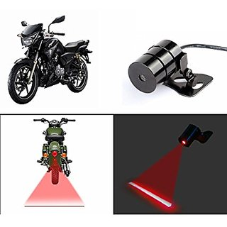 Delhi Traderss Bike Rear Laser Safety Line Fog Light Red