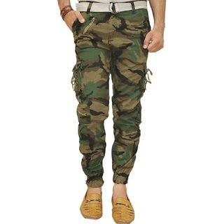 Xee Men's Multicolor Regular Fit Cargo