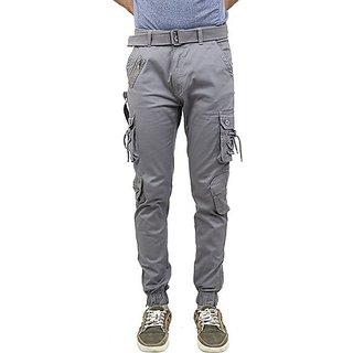Xee Men's Grey Cargo