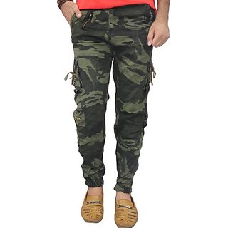 Xee Men's Multicolor Cargo