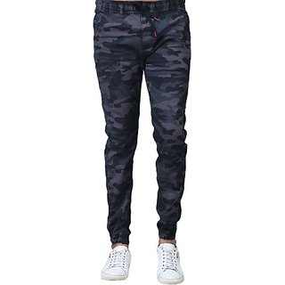 Xee Multicolor Slim Fit Trousers For Men