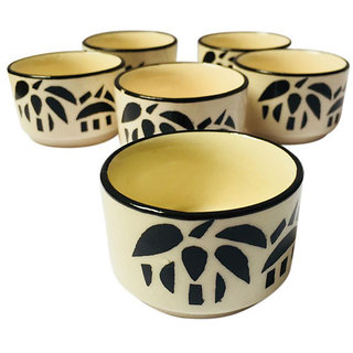 Mini Ceramic Chutney Bowls