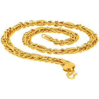Dare by Voylla Hand Made Gold-Plated Stylish Link Chain