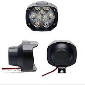 Bike / Motorcycle 9 LED Headlight Driving Fog Spot Light 1 PCS