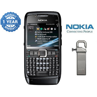 Nokia E71/ Good Condition/ Certified Pre Owned (1 Year Warranty) with 64GB Pendrive