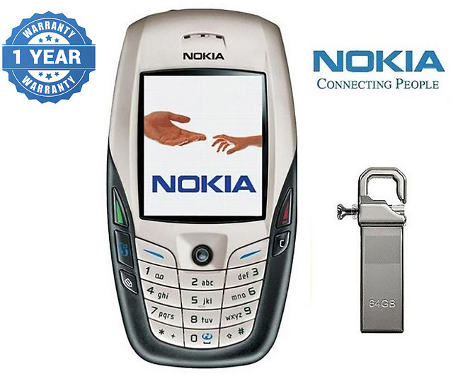 Nokia 6600/ Good Condition/ Certified Pre Owned (1 Year Warranty) with 64GB  Pendrive