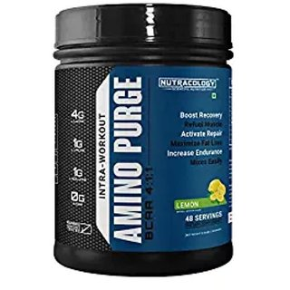 Nutracology Amino Purge BCAA Branch Chain Amino Acids 411 300gms 48 Servings