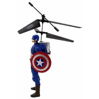 Avengers Captain America Induction Control Flyer With LED Lights