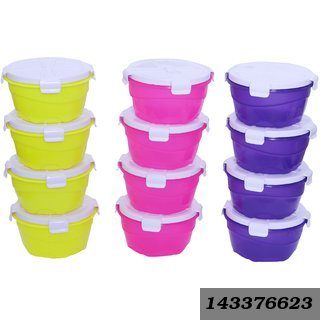 New look Multicolor Plastic Box/Containers - Set of 12