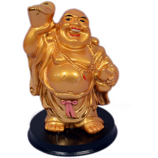Oanik Laughing Buddha for Money and Wealth Good Luck Laughing Buddha with Wealth