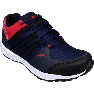Firemark Men's Black Sports Shoes