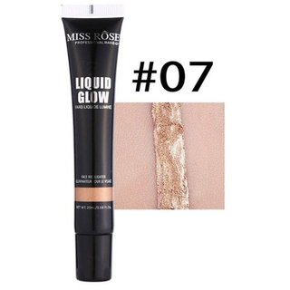 Miss Rose Waterproof Long Lasting  Liquid Face And Body  Highlighter Shade 7