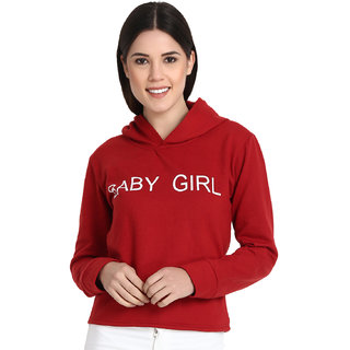 56bfdc100a3647 Buy Raabta Maroon Baby Girl Sweatshirt Online - Get 64% Off