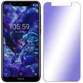 Wondrous Premium Anti Blue Ray Tempered Glass, Screen Protector For Nokia 5.1 Plus