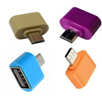 Pack of 2 Micro USB OTG Adaptor    Assorted Colors