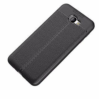 TPU Flexible Auto Focus Shock Proof Back Cover For Samsung Galaxy J7 Max (Black)