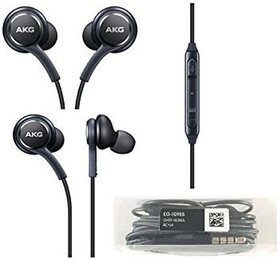 Fleejost Akg Earphone-Handsfree Headset with Mic For Android IOS ,Samsung All Smart Phones Compatible