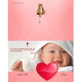 Baptism Or Christening Themed Cards - Fill in Style(Pack of 32)