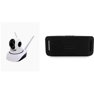 Wifi Camera & Y3 bluetooth speaker Dual Antenna 720P Wifi IP P2P Wireless Wifi Camera CCTV Night Vision Outdoor Waterproof security Network Monitor  So Best and Quality Compatible with all smartphones