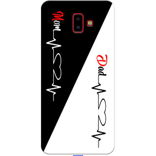 SAMSUNG J6 PLUS  MOM AND DAD LOVE PRINTED MOBILE CASE AND COVER SKYCO