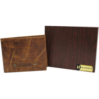 Hammer Men's Tan Leather Wallet
