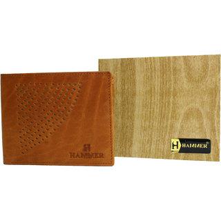 Hammer Men's Tan Leather Wallet