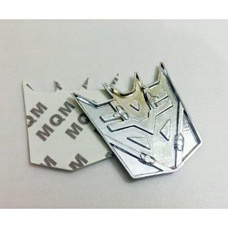 Delhitraderss Transformer 3D Metal Emblem Refitting Badge Sticker Car Styling Auto Dcor