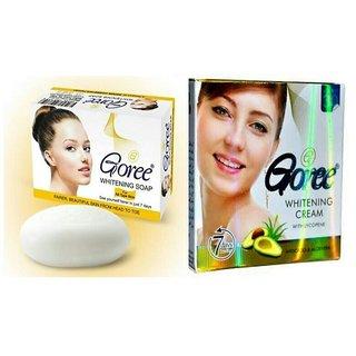 original Goree whitening cream with Goree whitening soap