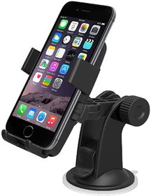 PREMIUM E COMMERCE Mobile Phone car Mount Holder Stand for Dashboard - Multi- Color
