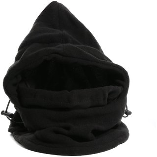 6 In 1 Fleece Balaclavas Hood Hat Multifunction Windproof Full Face Cover F