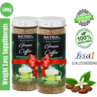 Green Coffee Beans Powder for Weight Loss (Pack of 2)