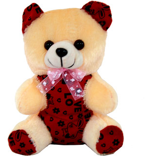 Planet of Toys Teddy Bear Soft Toy for kids  Gift for Valentine/ Birthday/ Anniversary for Your Love Once ( 10 In)