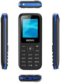 INOVU A9i (Dual Sim, 1.77 Inch Display, 800 mAh Battery, Talking Dialer)