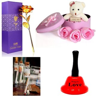 Pack of 4 Romatic gift items for valentines day for your love