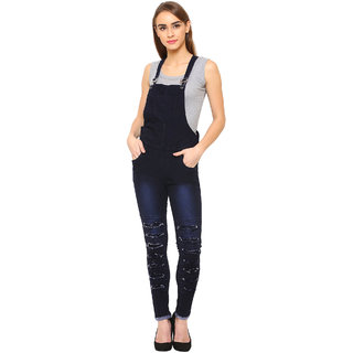 Dryzee Denim Dungaree for Women's (DryDNGRRUFBLUE)