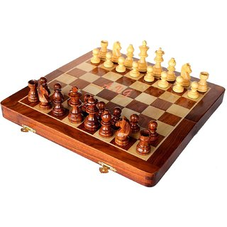 Chess Game Board with MAGNATIC Crafted(101010 INCH)