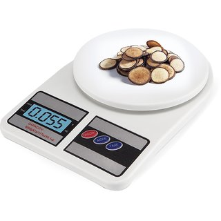 EASELIFE Premium Quality Multipurpose LCD Screen Digital Kitchen Weighing Scale Machine Upto 10 Kg (SF- 400)